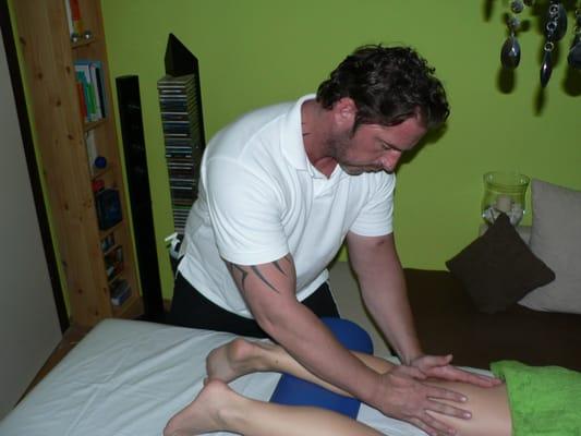 Massage mit vibrator