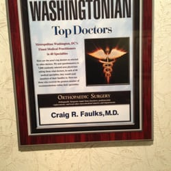 Craig R Faulk, MD - 18 Reviews - Orthopedists - 3 Washington