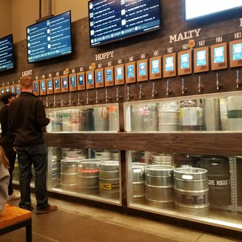 Photo of First Draft Taproom & Kitchen - Denver, CO, United States. 40 different taps