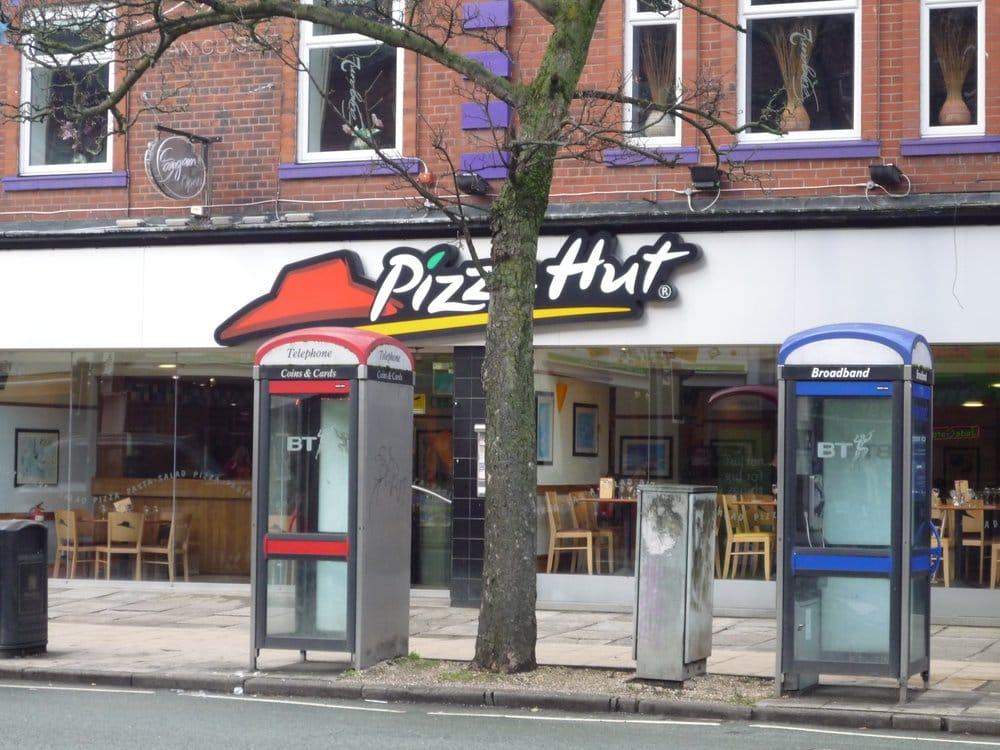 Pizza Hut Uk Pizza 766 Wilmslow Road Didsbury Village