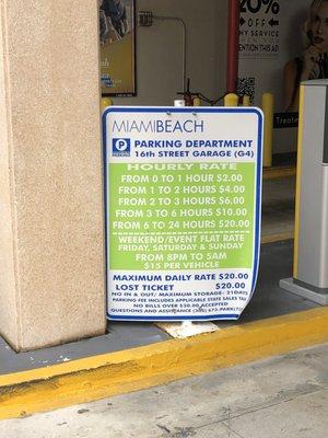 16th Street Parking Garage Shops At Anchor 236 16th St Miami Beach Fl Parking Garages Mapquest