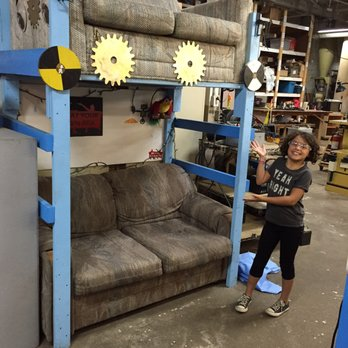 Super They Have A Double Decker Couch Yelp Caraccident5 Cool Chair Designs And Ideas Caraccident5Info