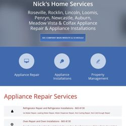 Appliances Amp Repair In Fair Oaks Yelp