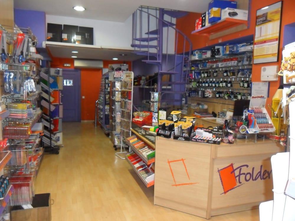 Papelería Folder 11 Photos Office Equipment Calle Quintana 22 Argüelles Madrid Spain Phone Number Yelp