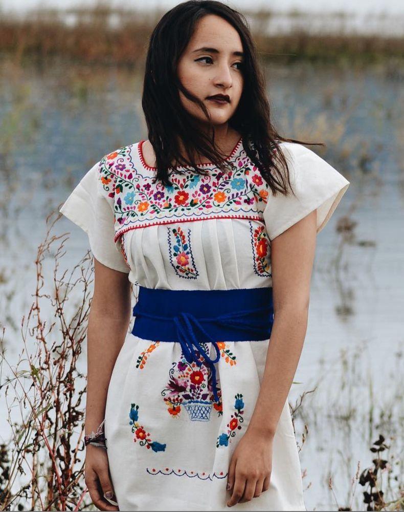 Vestido Típico De Puebla Tallas Disponibles Chmlxl Yelp