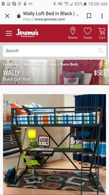 Jeromes Bunk Beds Cheaper Than Retail Price Buy Clothing Accessories And Lifestyle Products For Women Men