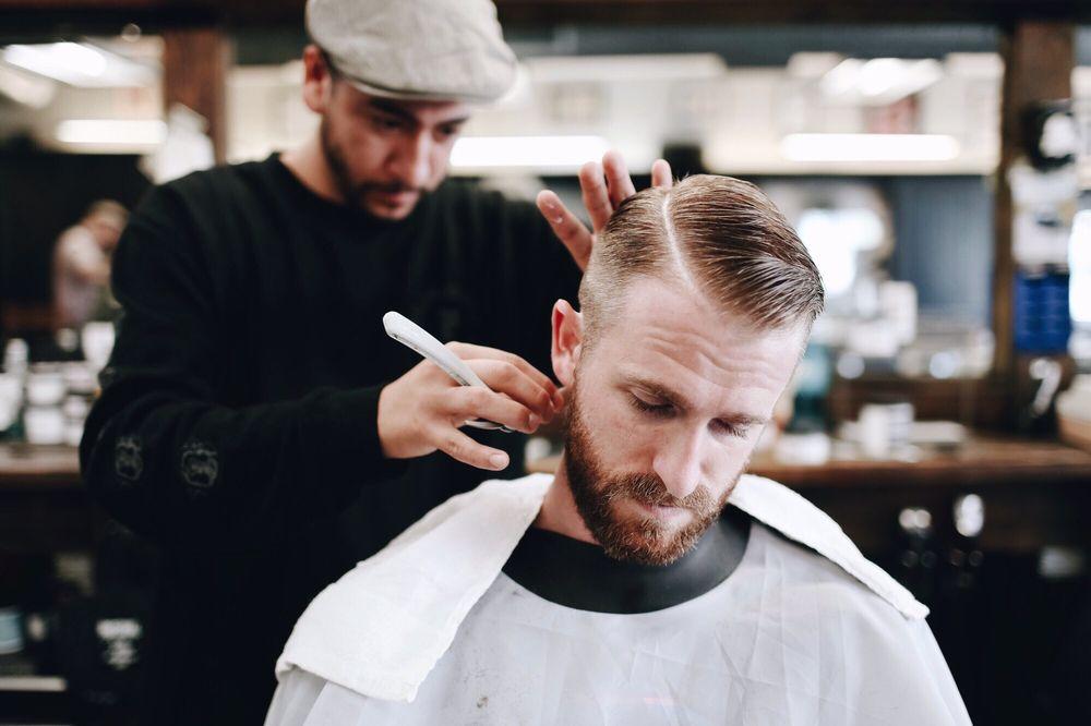 Kết quả hình ảnh cho barbershop haircut