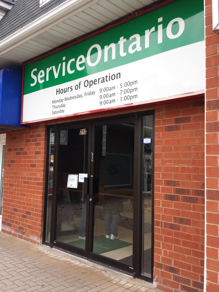Serviceontario 11 Reviews Ministry Of Transportation 100 Steeles Avenue W Thornhill On Phone Number Yelp