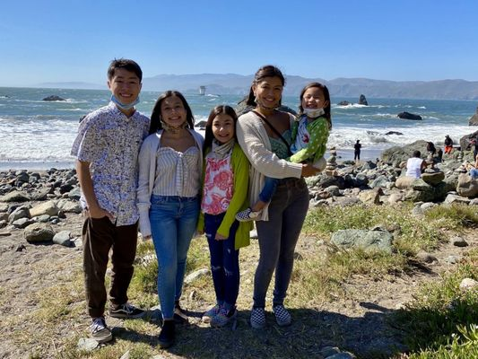 Photo of Lands End - San Francisco, CA, US. Mile Rock Beach