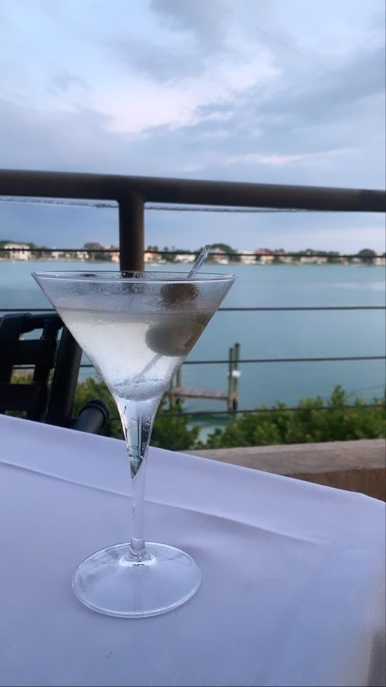 Photo of Chart House - Longboat Key, FL, United States. Dirty martini