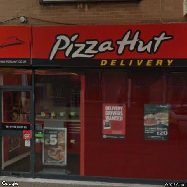 Pizza Hut Uk Pizza 118 Station Road Addlestone