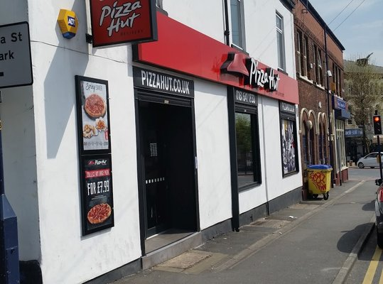 Pizza Hut Food Delivery 4 8 Henrietta Street Ashton