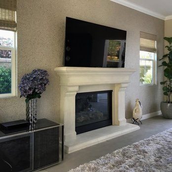 Cast Stone Fireplace Mantel From Mantel Depot In San Diego
