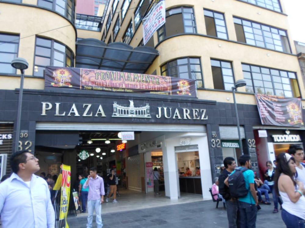 Plaza Juárez Bares Juárez 32 Centro Poniente México
