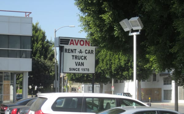 Avon Rent A Car Truck And Van Beverly Hills 9224 W Olympic Blvd Beverly Hills Ca Auto Rental Mapquest