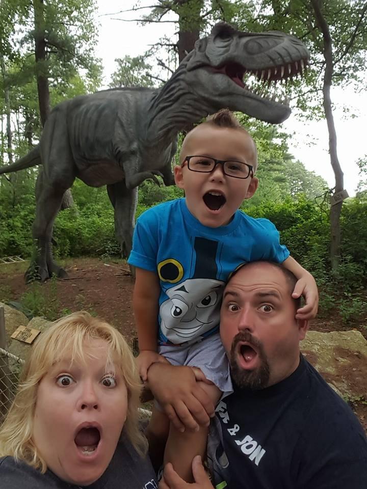 Jurassic Dinosaur Tyrannosaurs T Rex Earth Children Kids Funny t-shirt ALL AGES