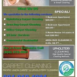 Pacific Union Carpet Cleaning - Carpet