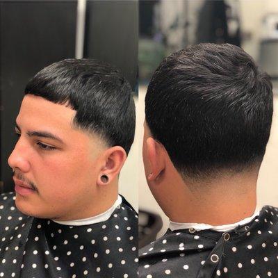 Mexican Taper Fade Haircut 57