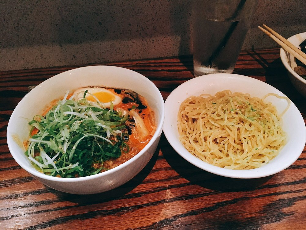 Photo of Tiger Den - Houston, TX, United States. Tsukemen (dipping ramen)