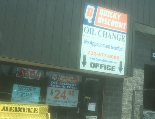 Quicky Discount Oil Change 497 Brick Blvd Brick Nj Auto Lube Oil Mapquest