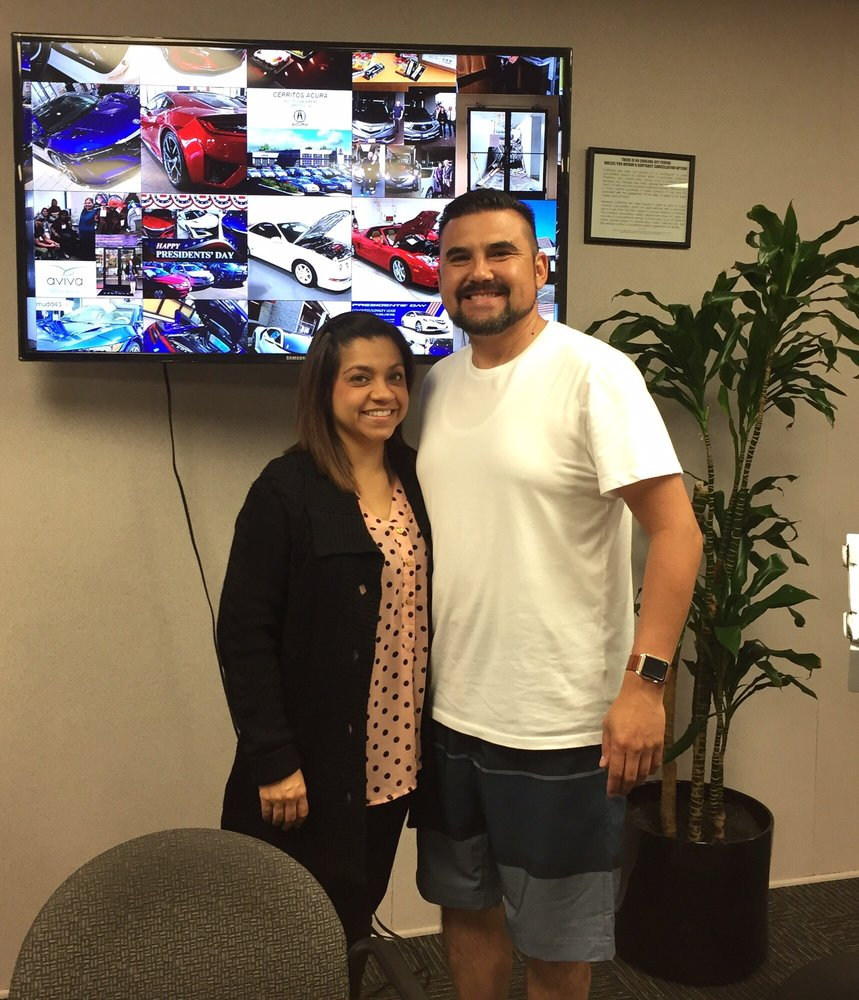 Here's A Picture Of Jennie And I At The Cerritos Acura