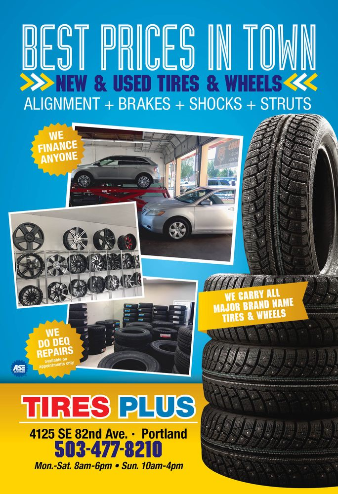 Used Tires Portland >> Tires Plus Tires 4125 Se 82nd Ave Foster Powell
