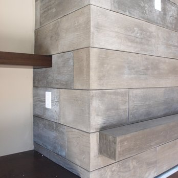 Board Form Concrete Tiles With Return