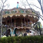 Photo of Adventureland - Farmingdale, NY, United States. Vintage Carousel