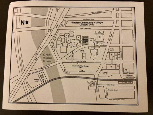 sinclair dayton campus map Sinclair Community College 444 W 3rd St Dayton Oh Colleges
