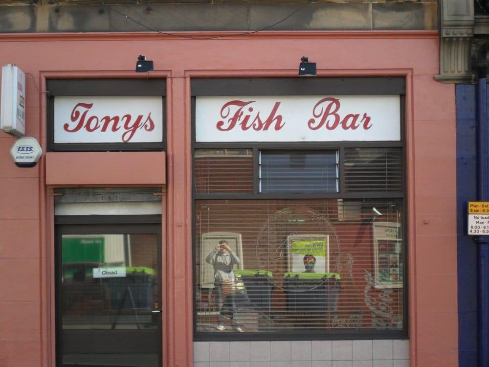 Tonys Fish Bar Fish Chips 7 Ratcliffe Terrace