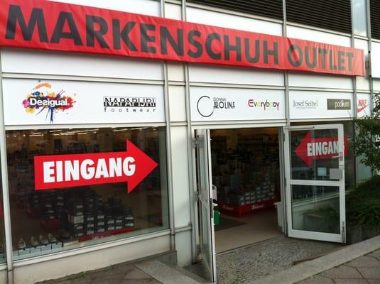 Leiser Markenschuh Outlet, Schuhe in Berlin, Grenzallee