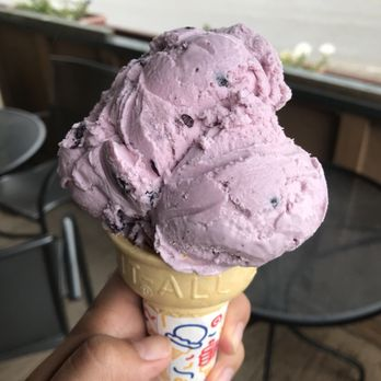 By Far The Best Huckleberry Ice Cream I Ve Tried They Are Also