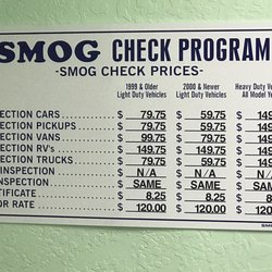 How Much Does A Smog Check Cost >> Northgate Smog Test Only Center 13 Photos 82 Reviews
