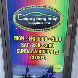 Calgary Body Shop Supplies Body Shops 3 2219 35 Avenue Ne Calgary Ab Phone Number