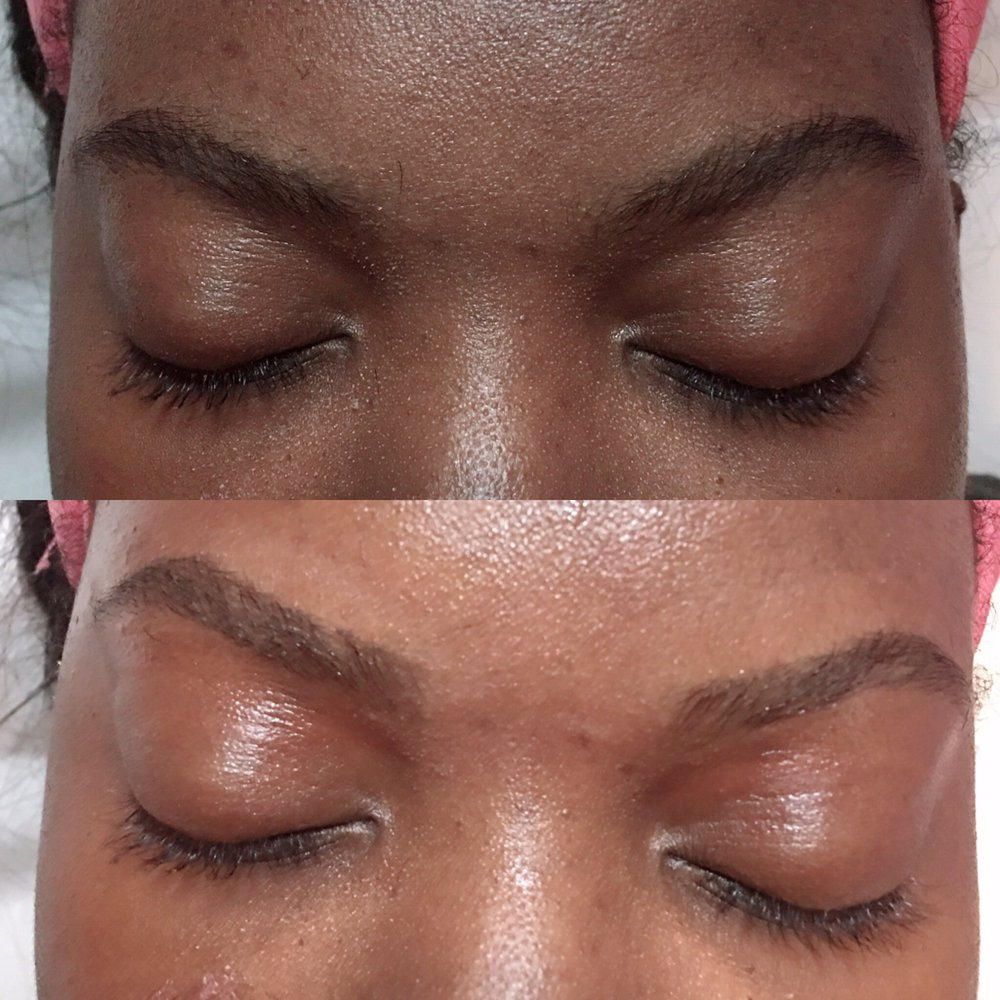 Before and after eyebrows waxing - Yelp