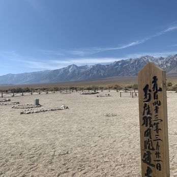 Photo of Manzanar National Historic Site - Independence, CA, United States. Cemetery