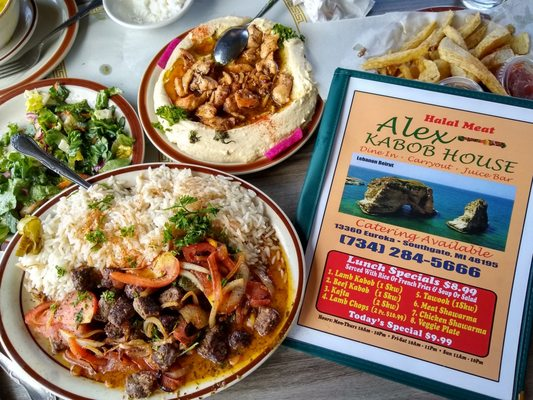 Alex Kabob House Takeout Delivery 33 Photos 43 Reviews Middle Eastern 13360 Eureka Rd Downriver Southgate Mi Restaurant Reviews Phone Number Menu Yelp
