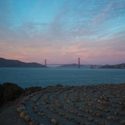 Photo of Lands End - San Francisco, CA, United States. Awesome view of the Golden Gate that greets ships coming into the Bay