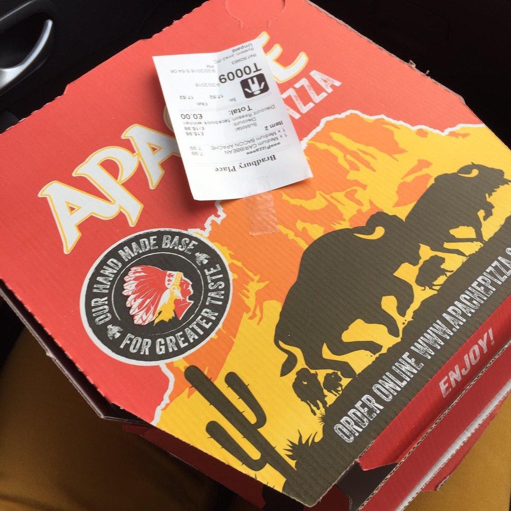 Apache Pizza Pizza 3 Bradbury Place City Centre