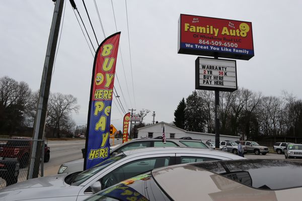 Image result for $500 down payment family auto of white horse rd