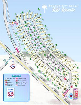 Panama City Beach Rv Resort 4702 Thomas