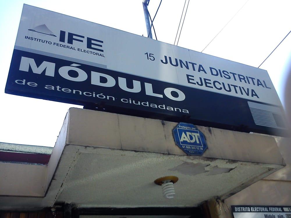Módulo Del Ife Servicios Públicos Pilares 46 Del Valle