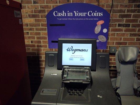 wegmans coin machine