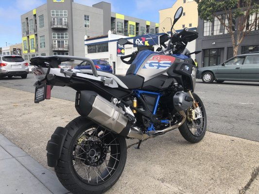 Bmw Motorcycles Of San Francisco 790 Bryant St San Francisco Ca Motorcycle Dealers Mapquest