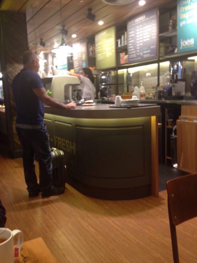 Joes Coffee House Cafes Aberdeen Airport Dyce Aberdeen