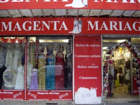 Magenta Mariage - CLOSED - Bridal - 151 boulevard