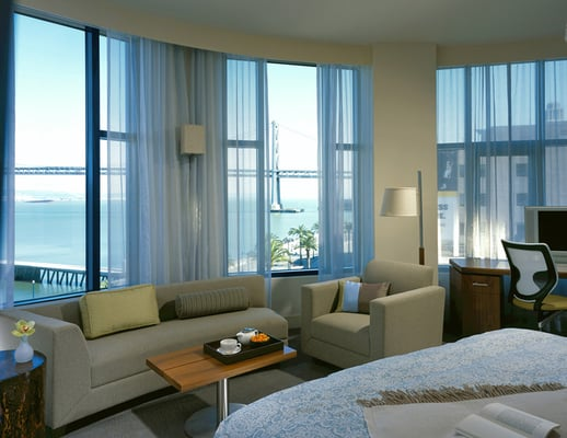 Photo of Hotel Vitale - San Francisco, CA, United States. Circular Panoramic Suite