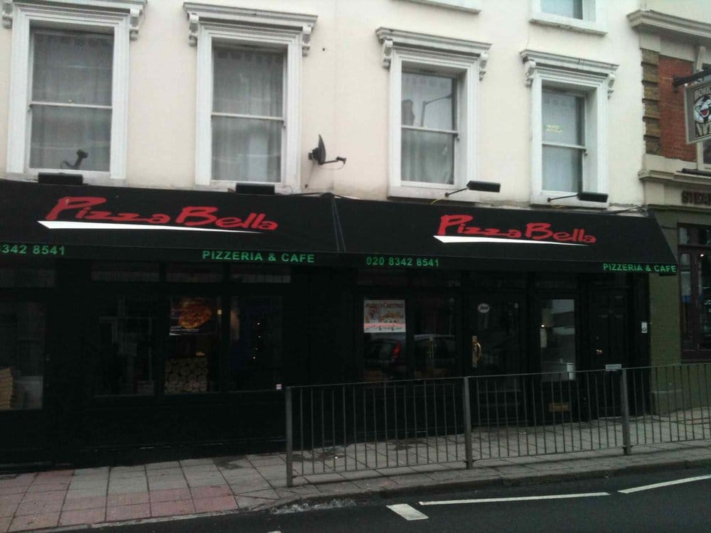 Pizza Bella Closed Pizza 4 Park Road Crouch End
