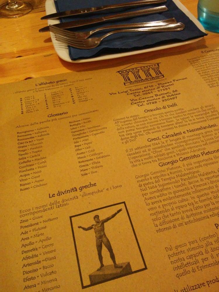 Magna Grecia Restaurantes Y Bares Via Cesare Battisti