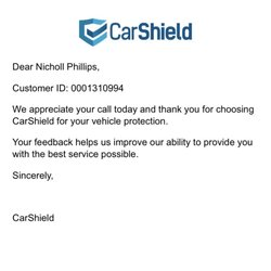 Photo of CarShield - St. Peters, MO, US. My policy info